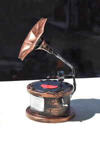 Vintage Phonograph Home Decoration