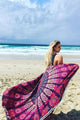 Tassels Print Beach Towels