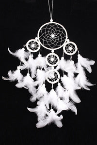 Large Five Rings Dream Catcher