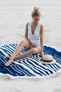 Stripe Tassels Beach Towels