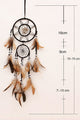 Shell Beads Feather Dream Catcher