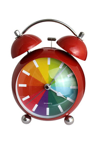 Twin Bell Rainbow Alarm Clock