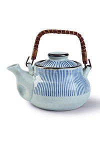 1000ML Stripe Ceramics Kettle