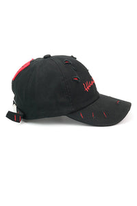 Broken Hole Letter Baseball Cap