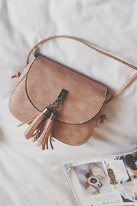 Vintage Tassels Shoulder Bag