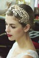 Metal Leaves Headband