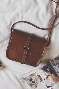 Vintage Square Shoulder Bag