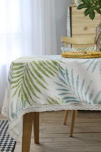 Tropical Plants Table Cloth