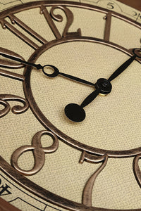 Vintage Carving Wall Clock