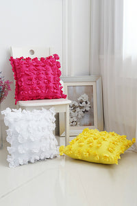 3D Flower Cushion