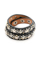 Rivet Leather Bracelet