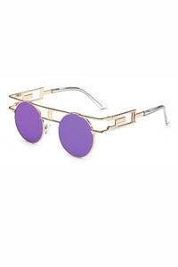 Punk Round Steam Sunglasses