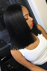 Middle Part Soft Smooth Natural Wig