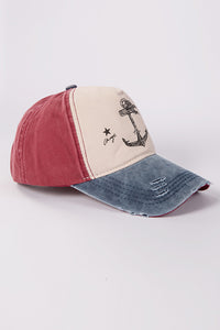 Boat Anchor Baseball Cap