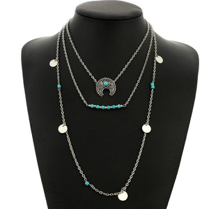 Bohemia Beaded  Layered Necklace