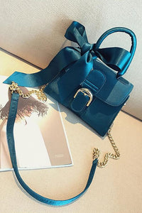 Bow Tied Chains Bag