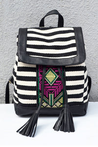 Embroidery Drawstring Backpack