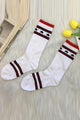 Star Stripe High Sock