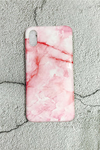 Marble Pink iPhone Case