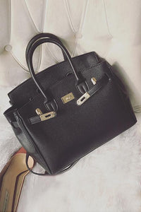Padlock Tote Shoulder Bag