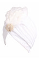 Pearl Feather Turban