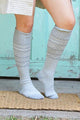 Scandinavian Pattern Knee High Socks