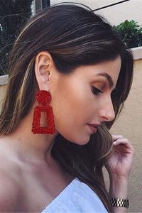 Geometry Big Earring