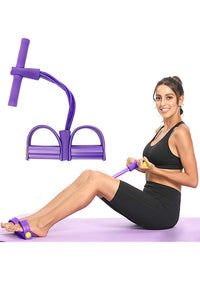 Natural Latex Pedal Resistance Band Multi-Function Fitness Equipment