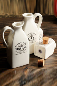 Ceramics Condiments Jar Set
