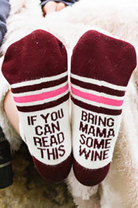 Bring Mama Some Wine Sock