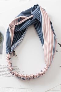 Stripe Elastic Turband