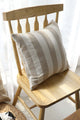 Wide Stripe Cushion Cover