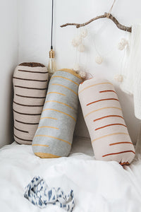 Cylindrical Cotton Kintting Cushion