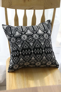 Geometry Print Cushion Cover