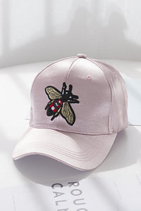 Bee Satin Baseball Cap