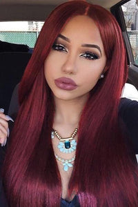Synthetic Straight Wig