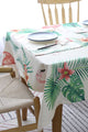 Flamingo Print Table Cloth