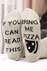Bring Me Pizza Sock