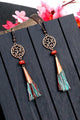 Hollow Tassels Earring