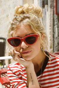 Retro Vintage Cat Eye Sunglasses