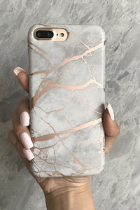 Marble Beige iPhone Case