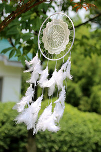 Lace Feather Dreamcather