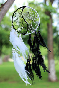 Tai Ji Feather Dream Catcher