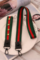 Rivet Color Block Lanyard