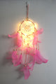LED Feather Dreamcatchers