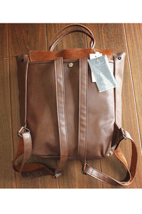 Leather Belt Backpack