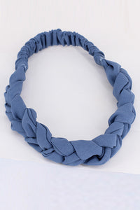 Braided Satin Headband