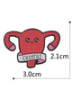 Cuterus Uterus Pin