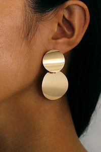 Simple Round Earrings