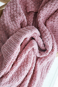 Chenille Knit Blankets
